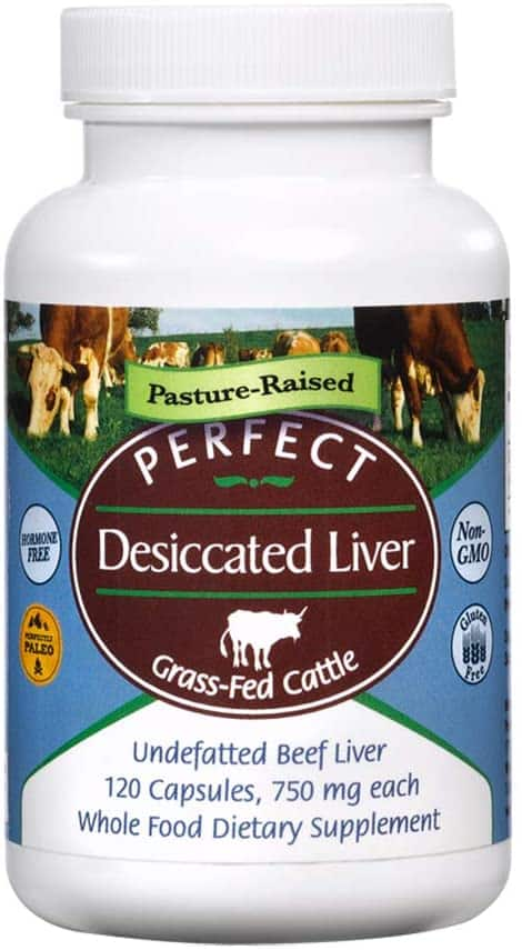 thyroid hair and skincare products dessicated liver